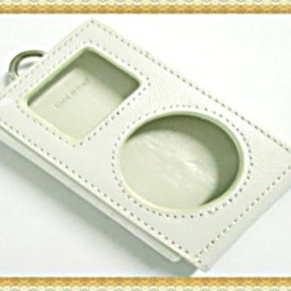 e2b886dbc96ad Prada Ipod Mini White Bianco Saffiano Case 1N1252
